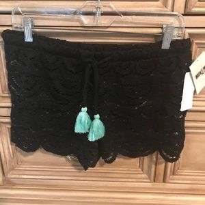 Mikey coverup shorts, NWT
